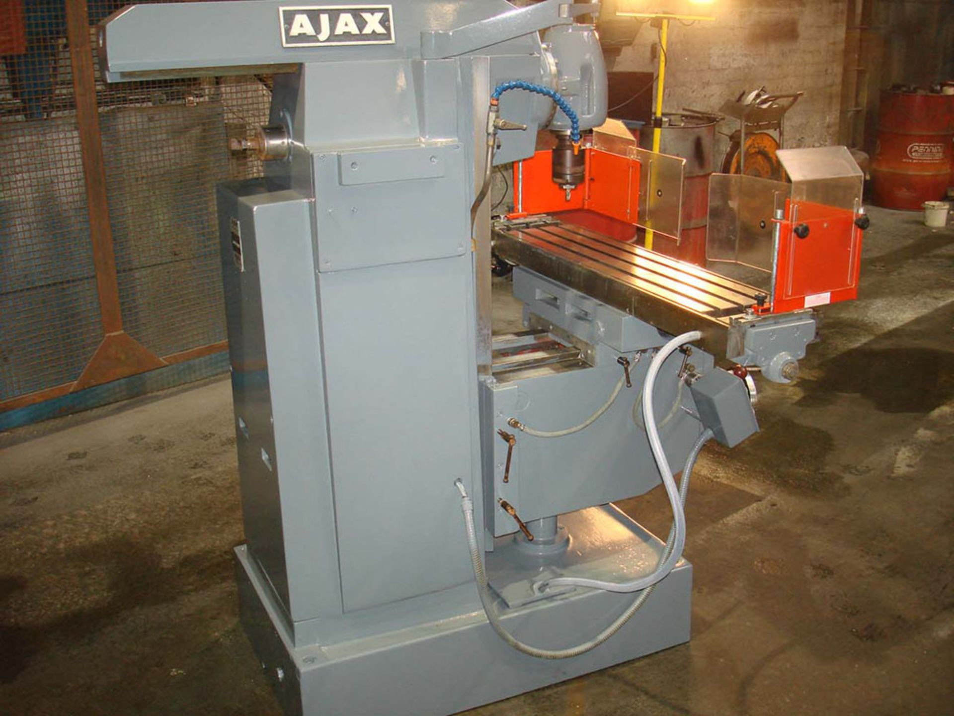 Ajax Model UP Universal Milling Machine. Table 1100 x 240mm. Long Traverse 750mm. - Image 5 of 6