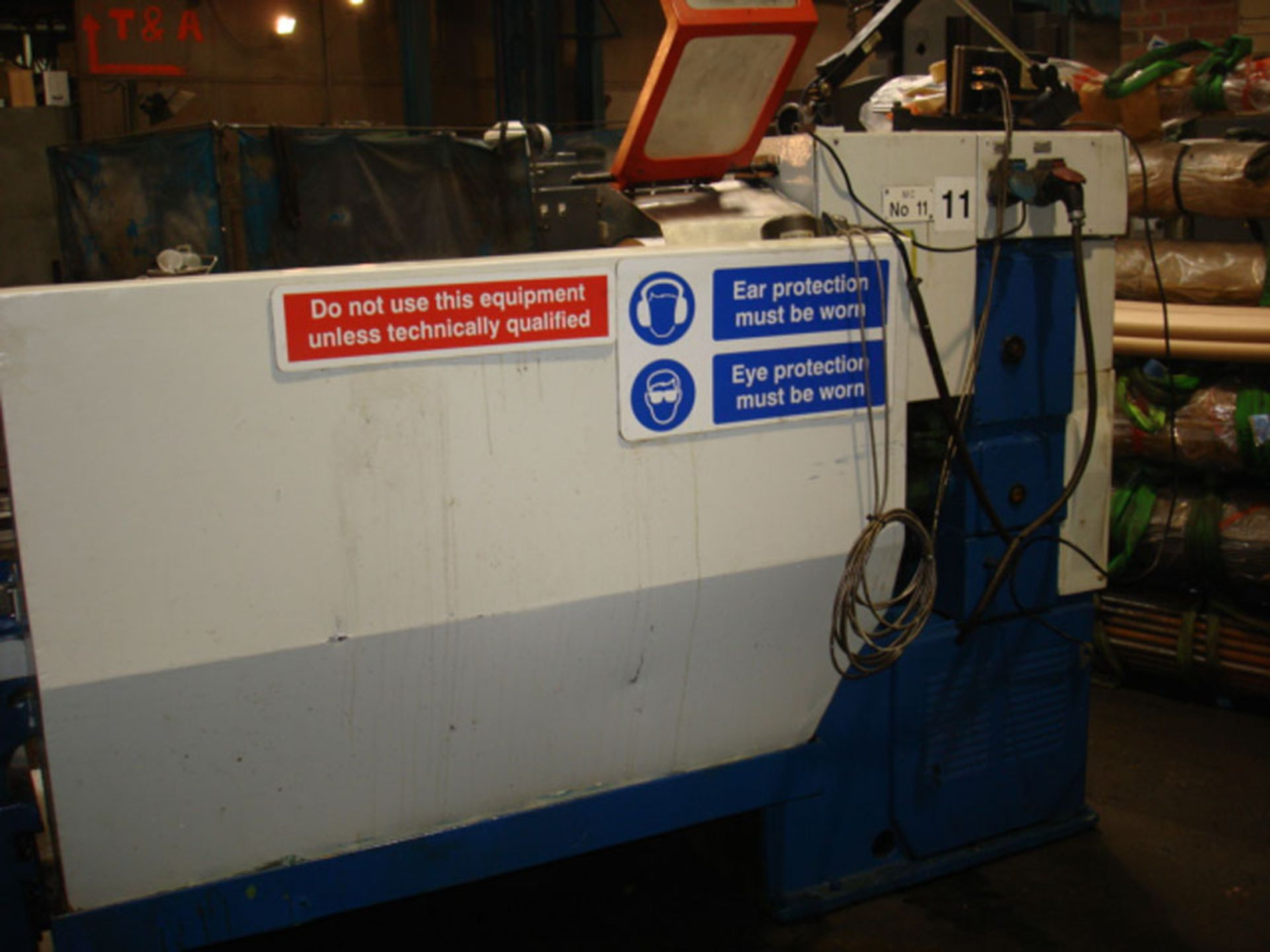 Tezsan SN50 Centre Lathe. Swing Over Bed 500mm x 1000mm Between Centres. - Image 7 of 7