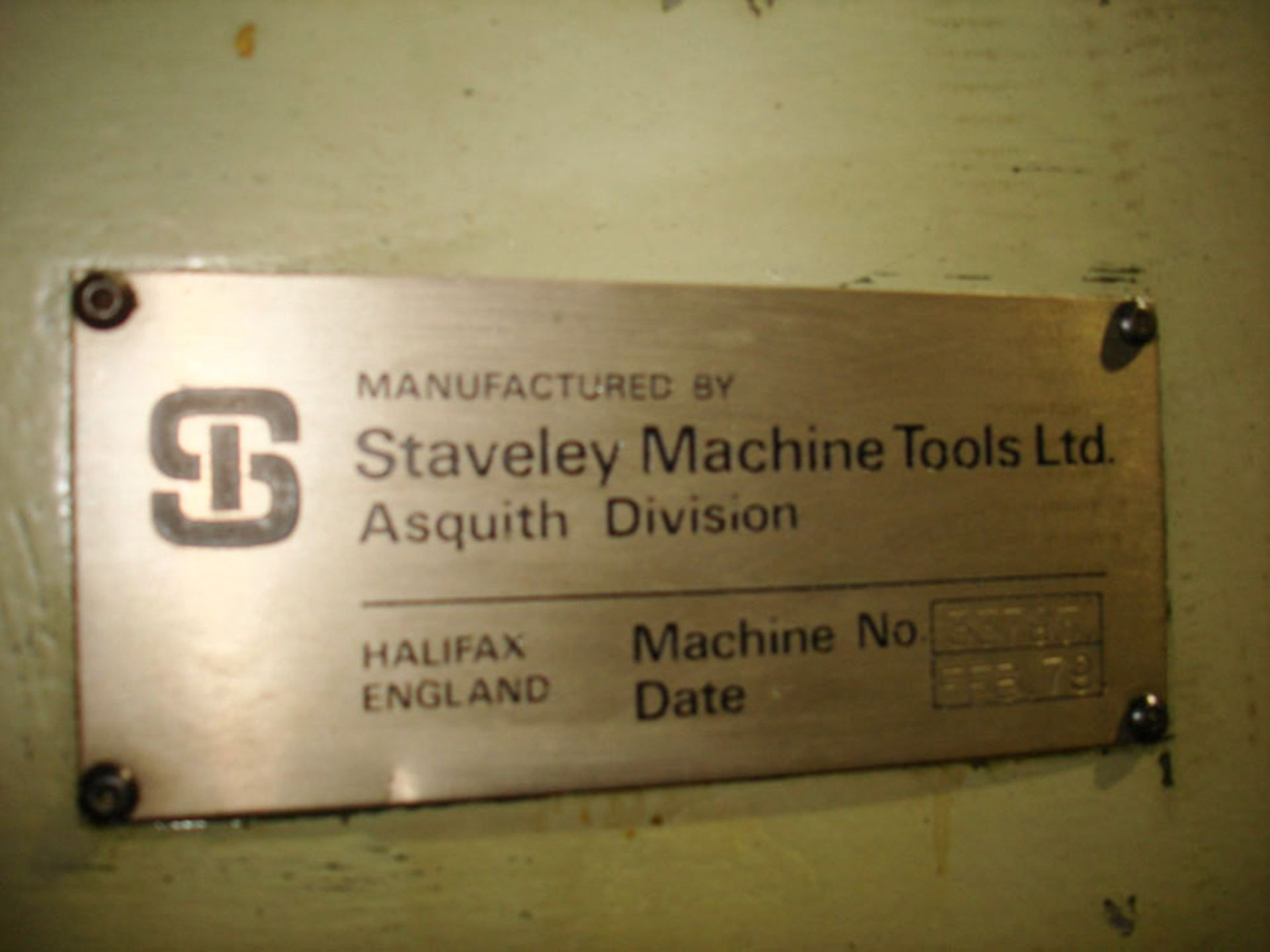 Asquith OD1 MK2 16/72 Radial Arm Drill. Arm Length 6ft. Spindle 5 Morse Taper. - Image 7 of 7