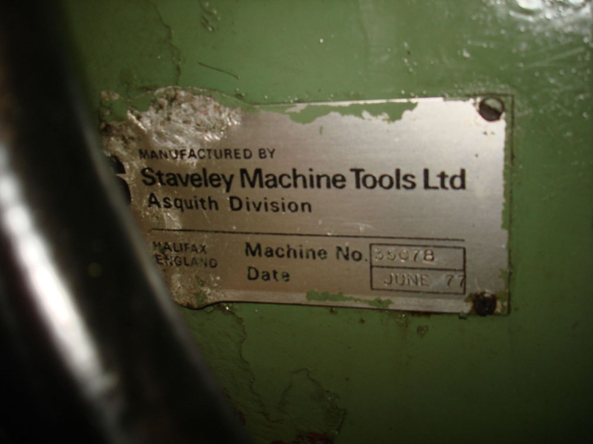 """Asquith Power thrust 4ft 6 Radial Arm Drill. Arm length 4ft 6"""". - Image 4 of 7"""