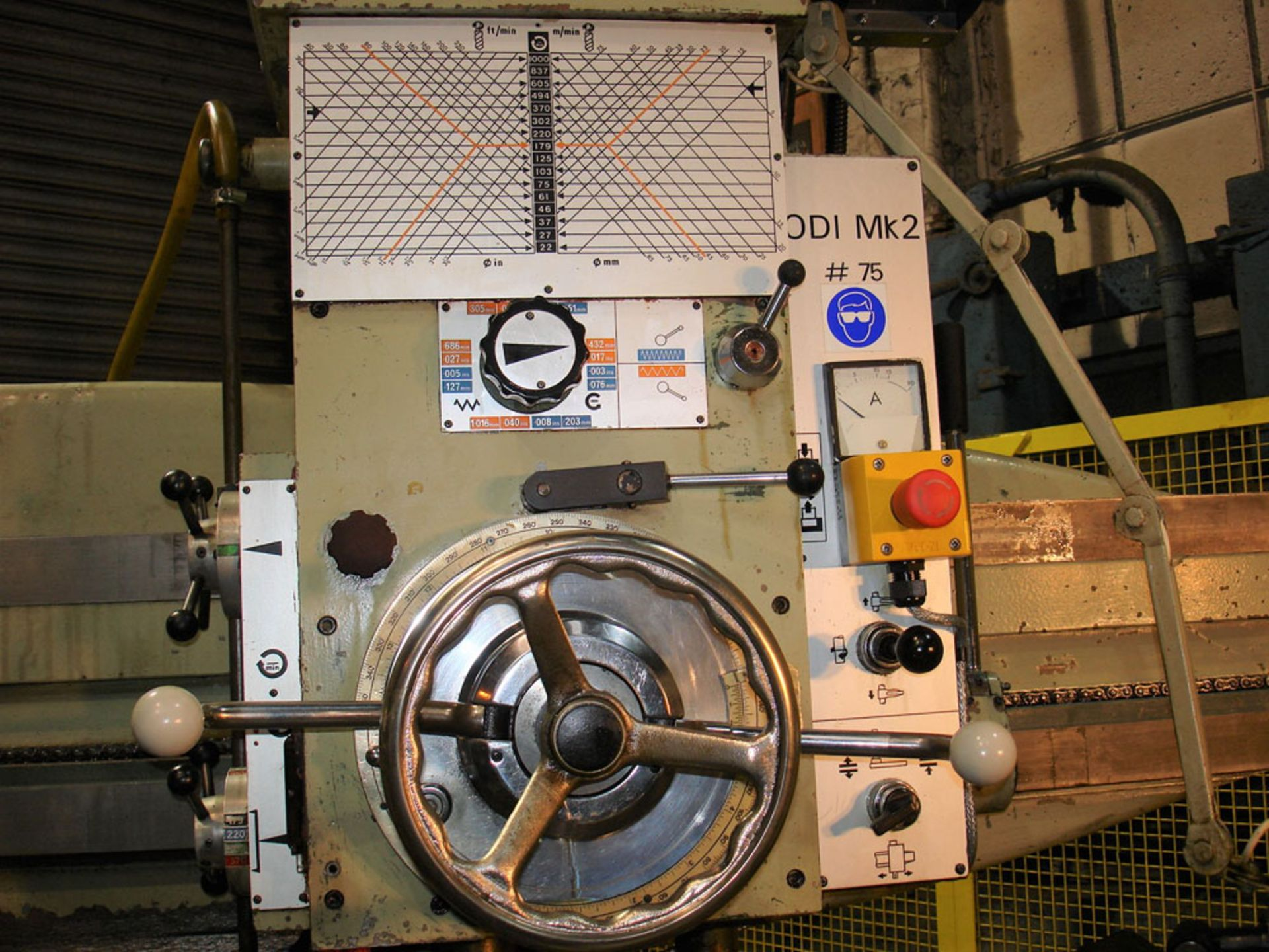 Asquith OD1 MK2 16/72 Radial Arm Drill. Arm Length 6ft. Spindle 5 Morse Taper. - Image 3 of 7