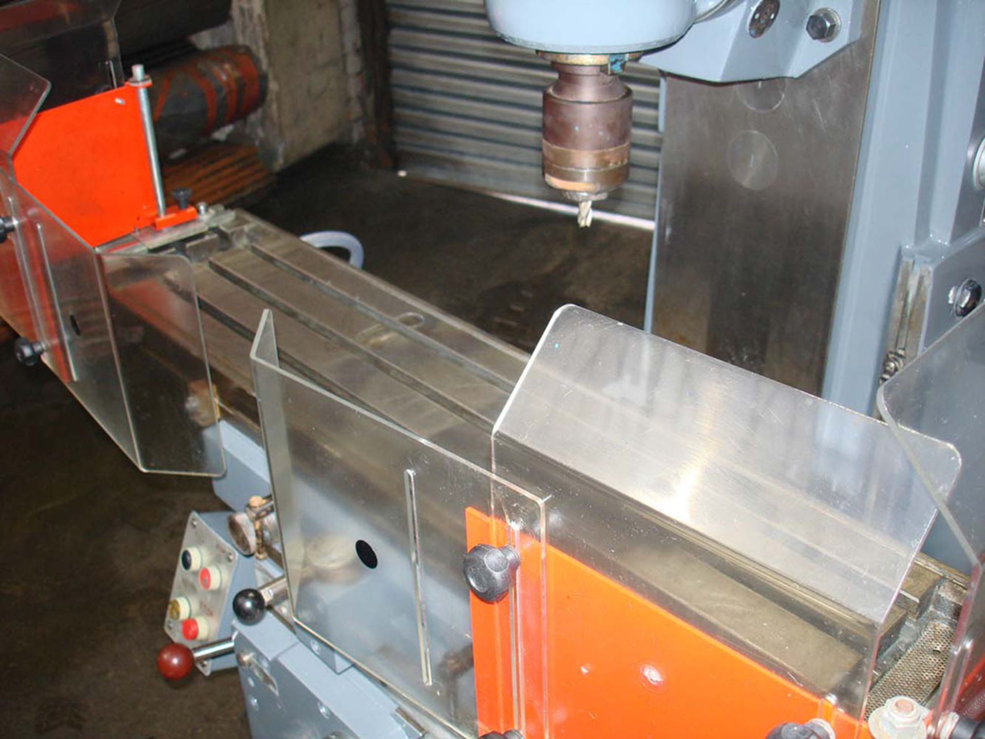 Ajax Model UP Universal Milling Machine. Table 1100 x 240mm. Long Traverse 750mm. - Image 3 of 6