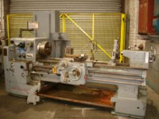 "Dean Smith & Grace 1709 Gap Bed Centre Lathe. Swing 17"" Over Bed. 50"" Between Centres."