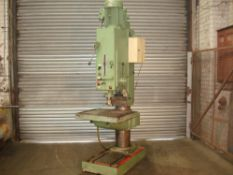 WMW BS 40 Heavy Duty Pillar Drill. Drill Capacity 5 Morse Taper.