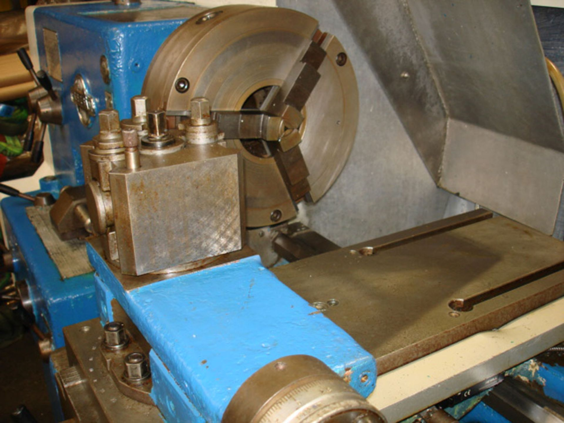 Tezsan SN50 Centre Lathe. Swing Over Bed 500mm x 1000mm Between Centres. - Image 6 of 7