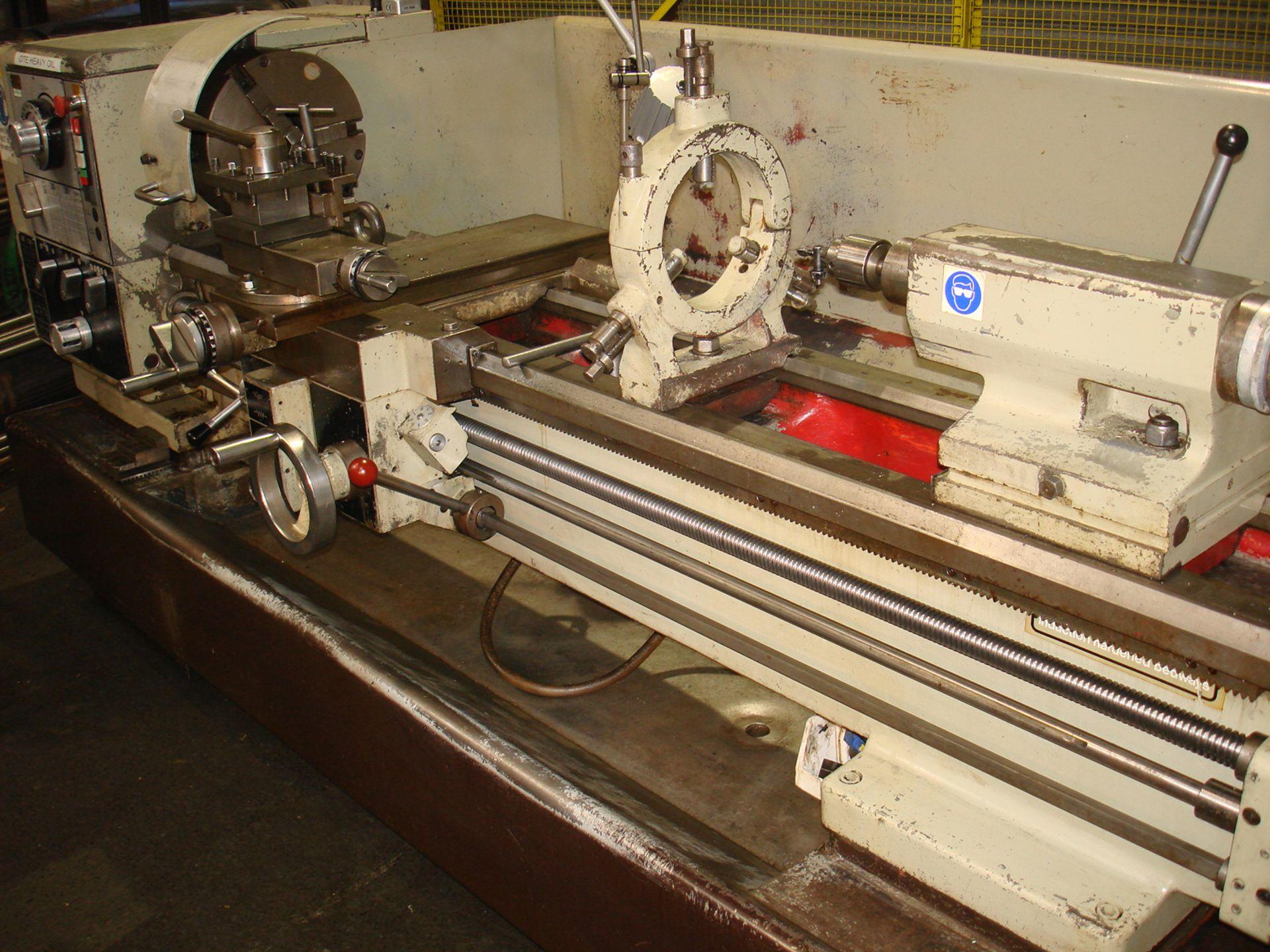 Harrison M400 Gap Bed Centre Lathe. Swing 430 mm x 1500mm. - Image 3 of 6