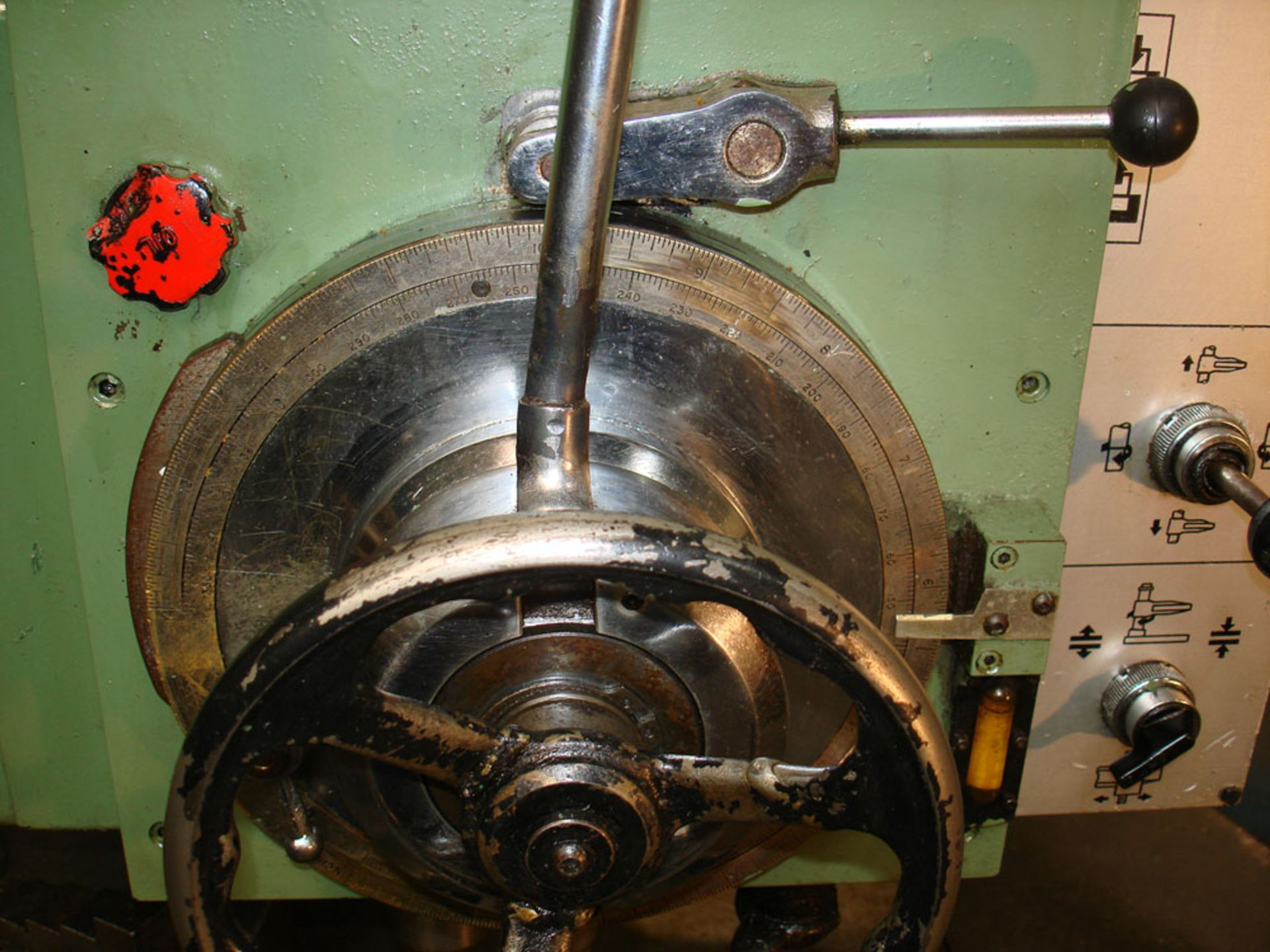 """Asquith Power thrust 4ft 6 Radial Arm Drill. Arm length 4ft 6"""". - Image 7 of 7"""