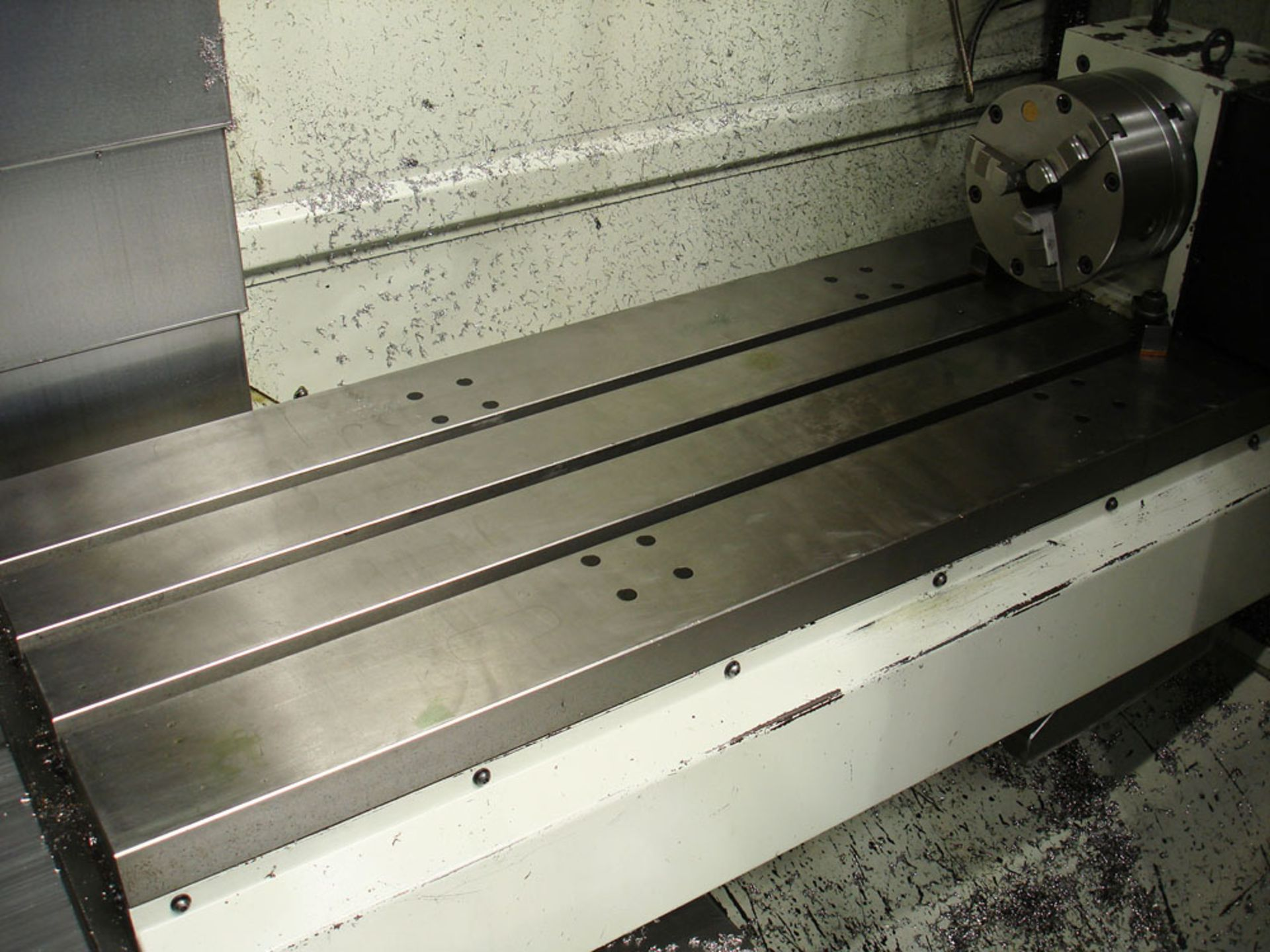 HURCO VM3 Vertical Machining Centre. Year 2008. Hurco Max Control. Table Size 1321 x 457 mm. - Image 3 of 9