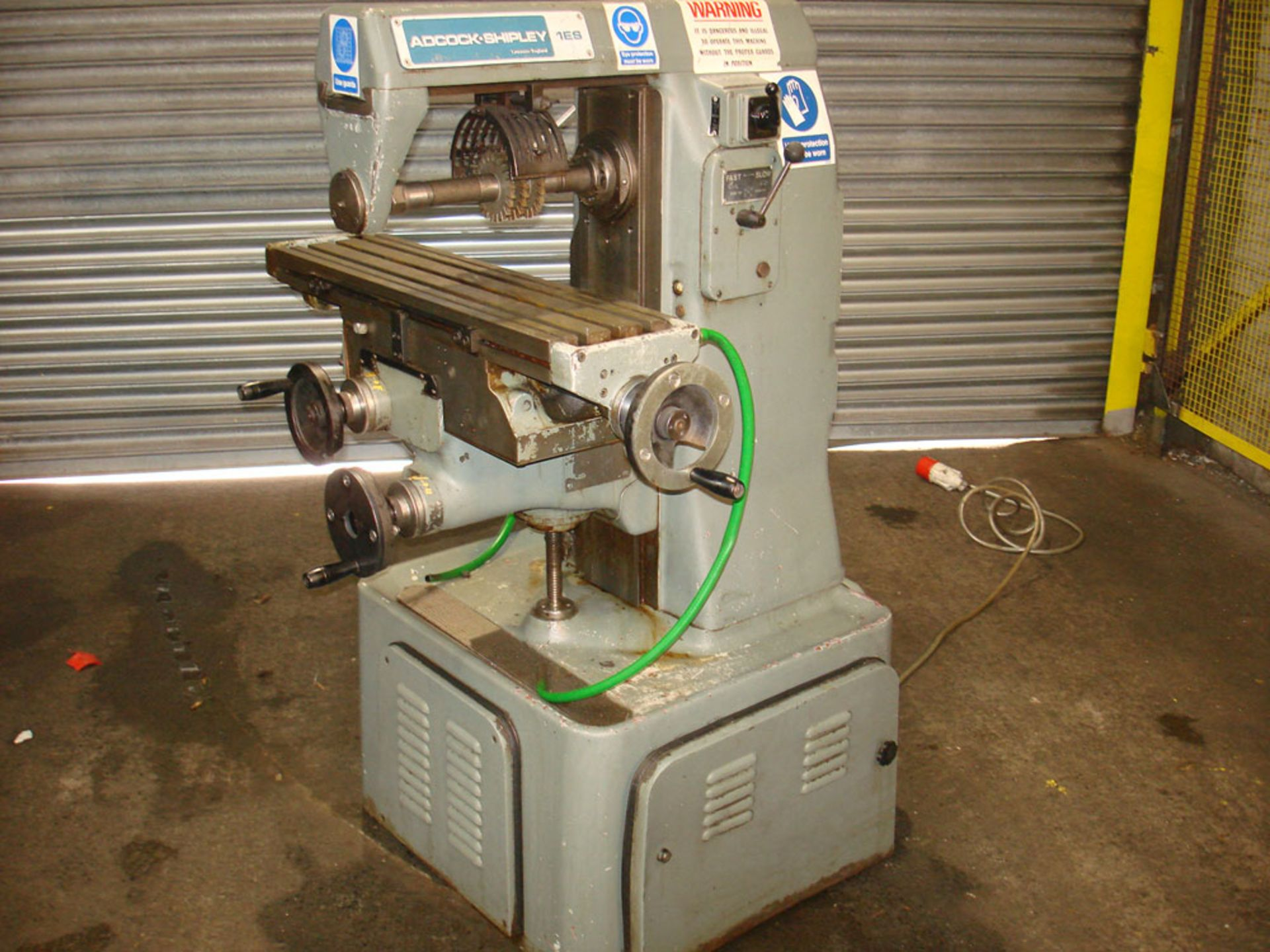 Adcock & Shipley 1ES Horizontal Mill. Table 762mm x 203mm. 40 Int Spindle Taper.