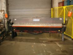 Carter Box & Pan Folder. Capacity 3000mm x 2mm.  New 2007.