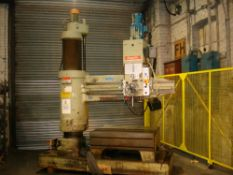 Asquith OD1 MK2 16/72 Radial Arm Drill. Arm Length 6ft. Spindle 5 Morse Taper.