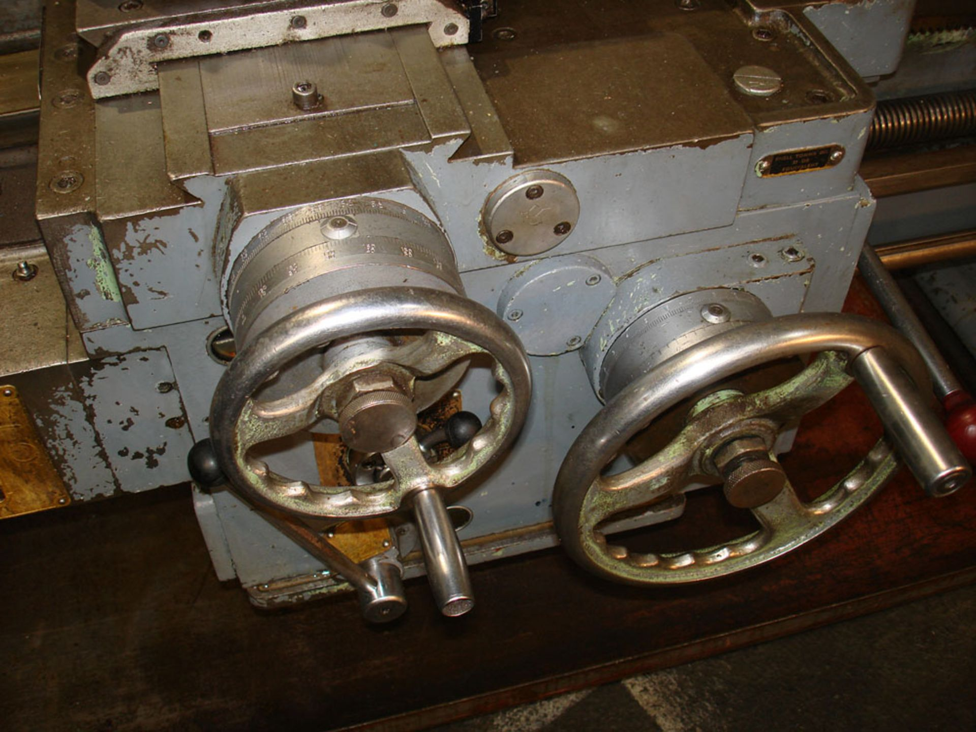 """Dean Smith & Grace 1709 Gap Bed Centre Lathe. Swing 17"""" Over Bed. 50"""" Between Centres. - Image 5 of 5"""