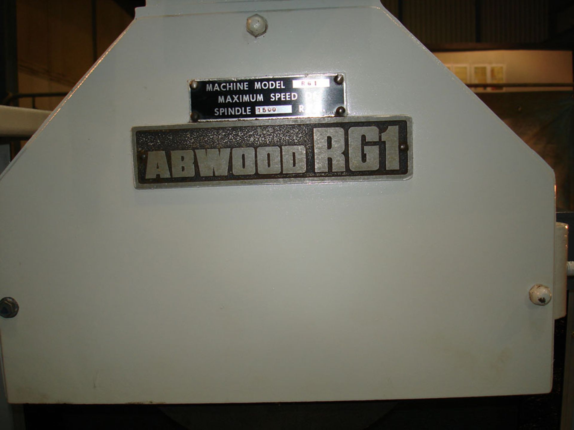Abwood RG1 Rotary Table Surface Grinder. Magnet Diameter 600mm. - Image 3 of 7