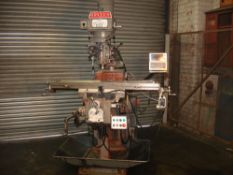 KRV 3000 SLV Turret Milling Machine. Table Size 1473 x 305mm.