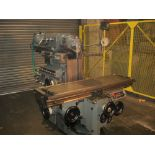 Huron NU5 Universal Milling Machine. Universal Head. Table 1600 x 460 mm.