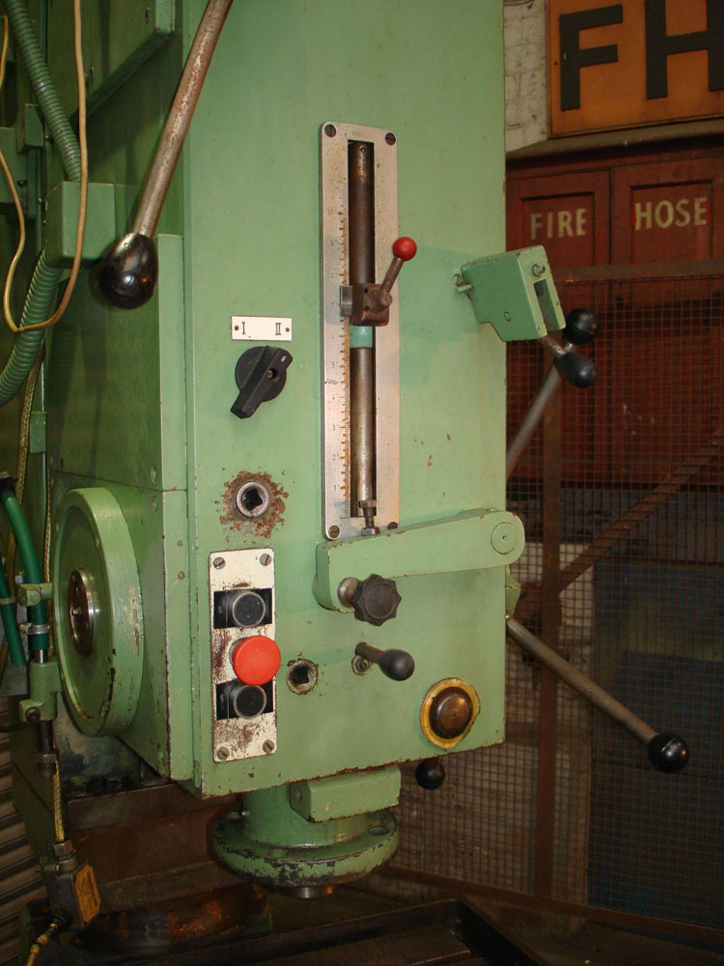 WMW BS 40 Heavy Duty Pillar Drill. Drill Capacity 5 Morse Taper. - Image 3 of 5