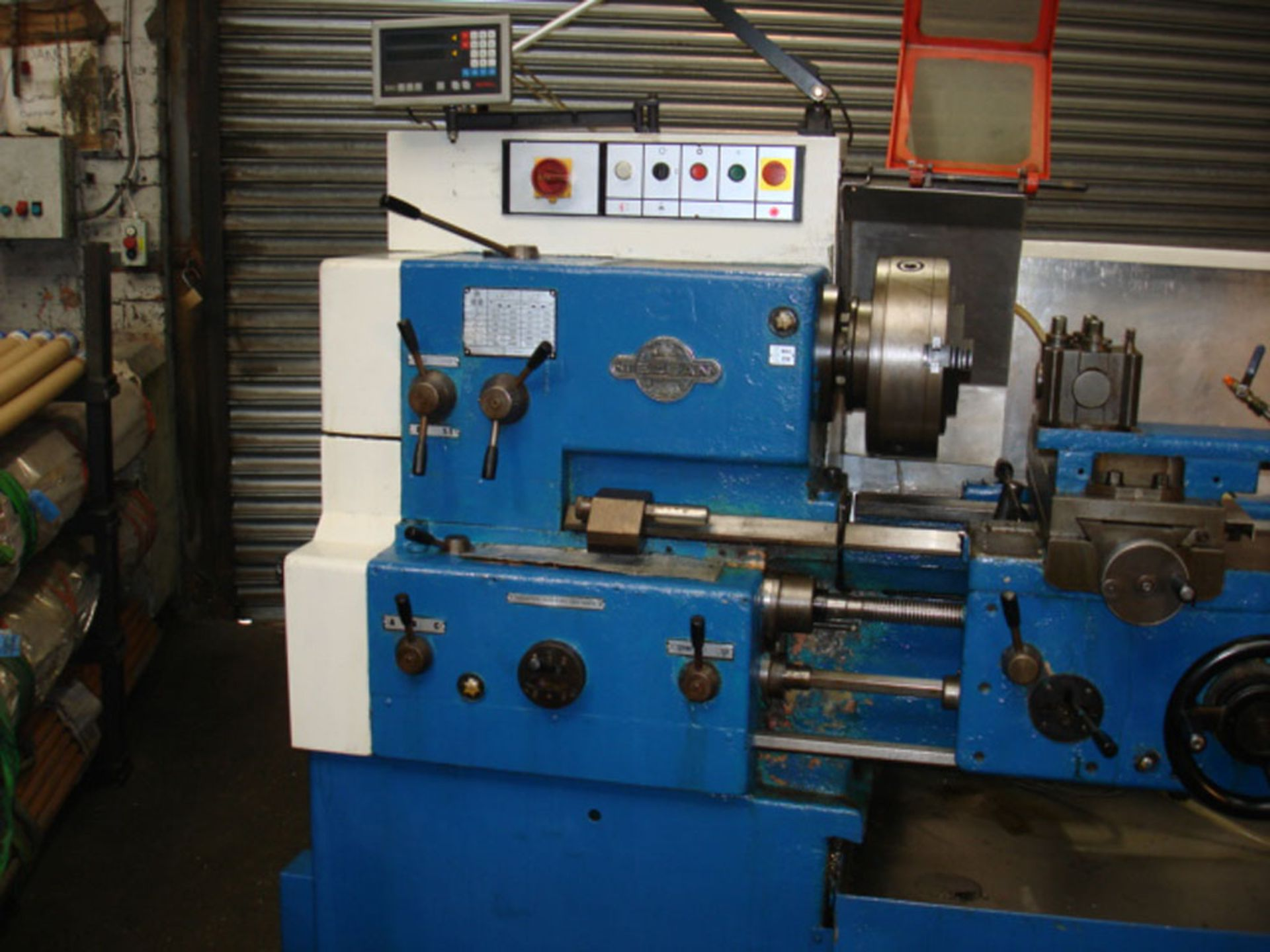 Tezsan SN50 Centre Lathe. Swing Over Bed 500mm x 1000mm Between Centres. - Image 4 of 7
