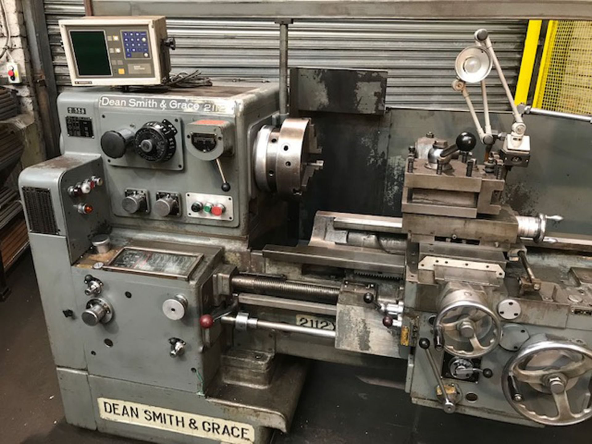 """Dean Smith & Grace 2112 x 50 Gap Bed Centre Lathe. Swing Over Bed 21"""". Distance Between Centres 50"""". - Image 2 of 9"""