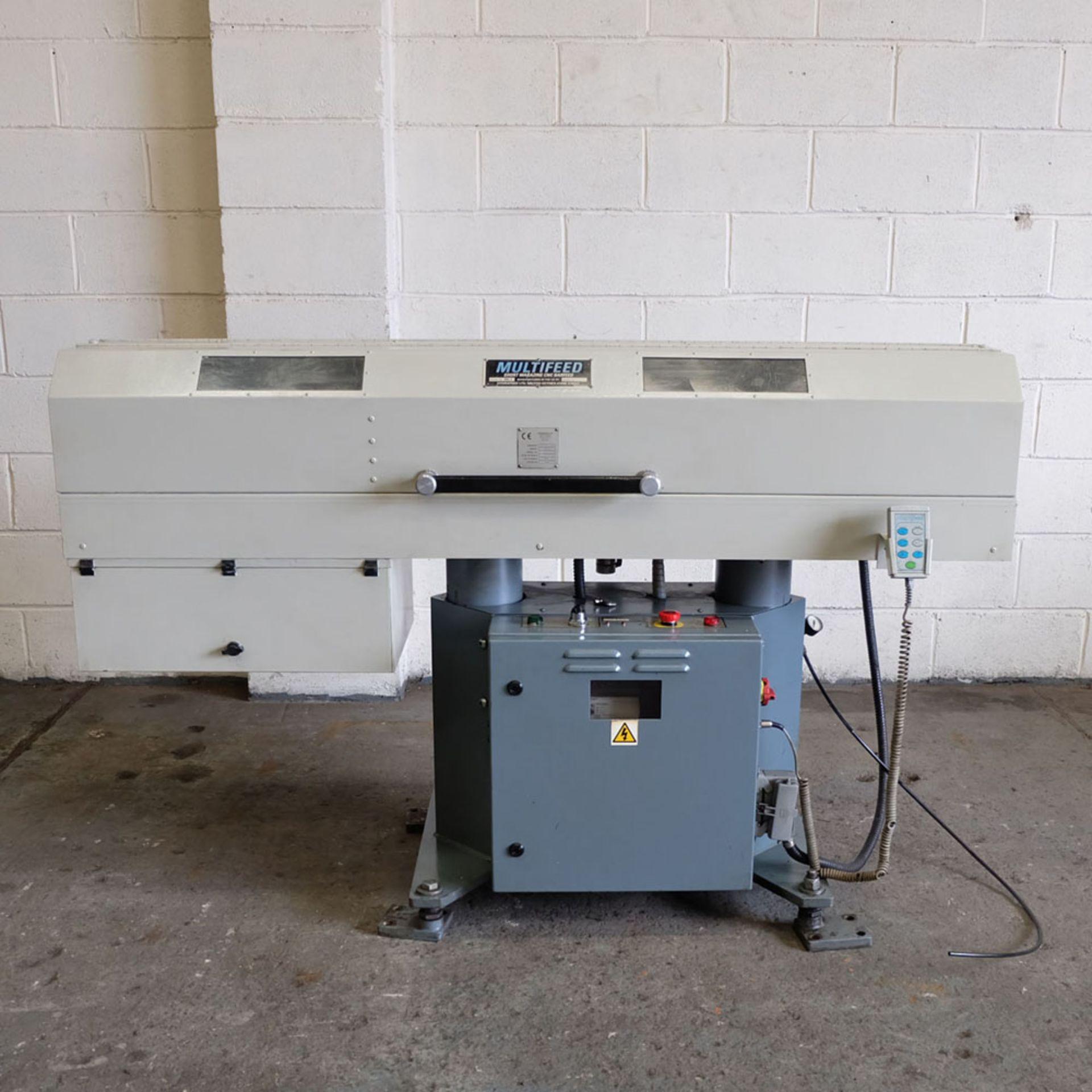 Multifeed Short Magazine CNC BarFeed. Model ML1. 220 Volt. Single Phase.