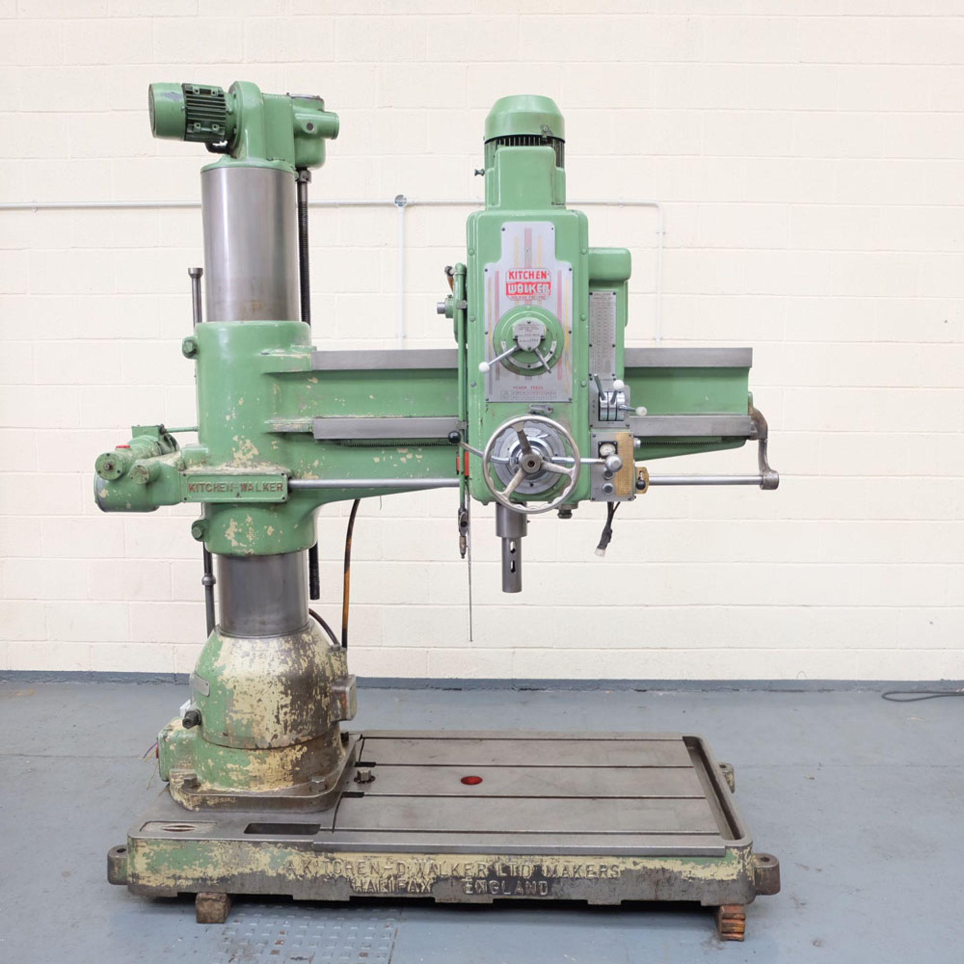 Kitchen-Walker Model E50-1400 4 1/2 FT Radial Alarm Drill.