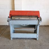 Edwards Manual Box & Pan Folder. Capacity: 3ft x 18swg.