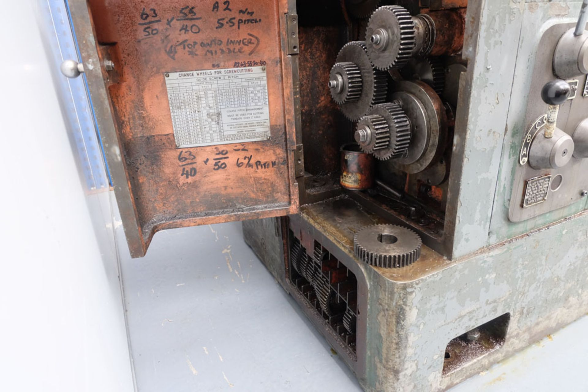 """Swift Type 11B SS and SC Centre Lathe. Between Centres 25'. Swing Over Bed 22"""". - Image 17 of 18"""