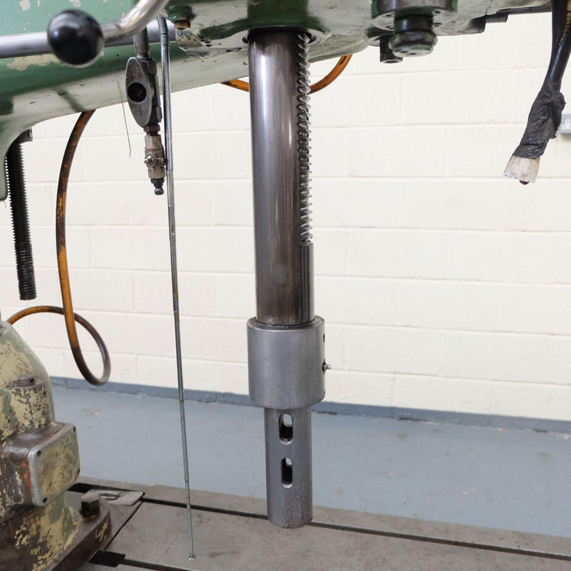 Kitchen-Walker Model E50-1400 4 1/2 FT Radial Alarm Drill. - Image 11 of 16