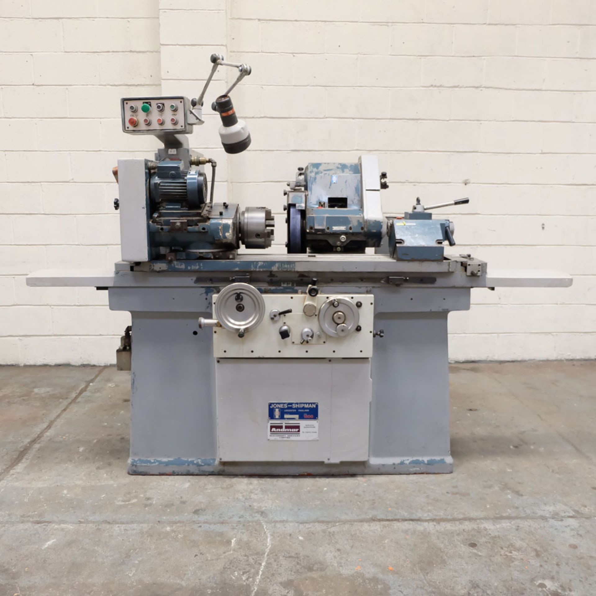 "Jones & Shipman Model 1311 EIU Universal Cylindrical Grinder. Capacity 10"" x 18"". - Image 2 of 10"