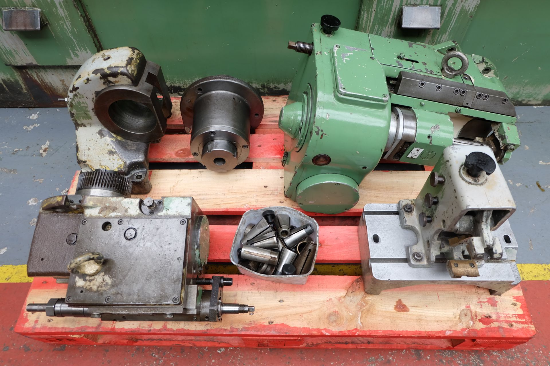 Heckert Type ZFWVG 25 x 5000 Long Thread and Spline Shaft Milling Machine. Centre Height 250mm. - Image 19 of 21