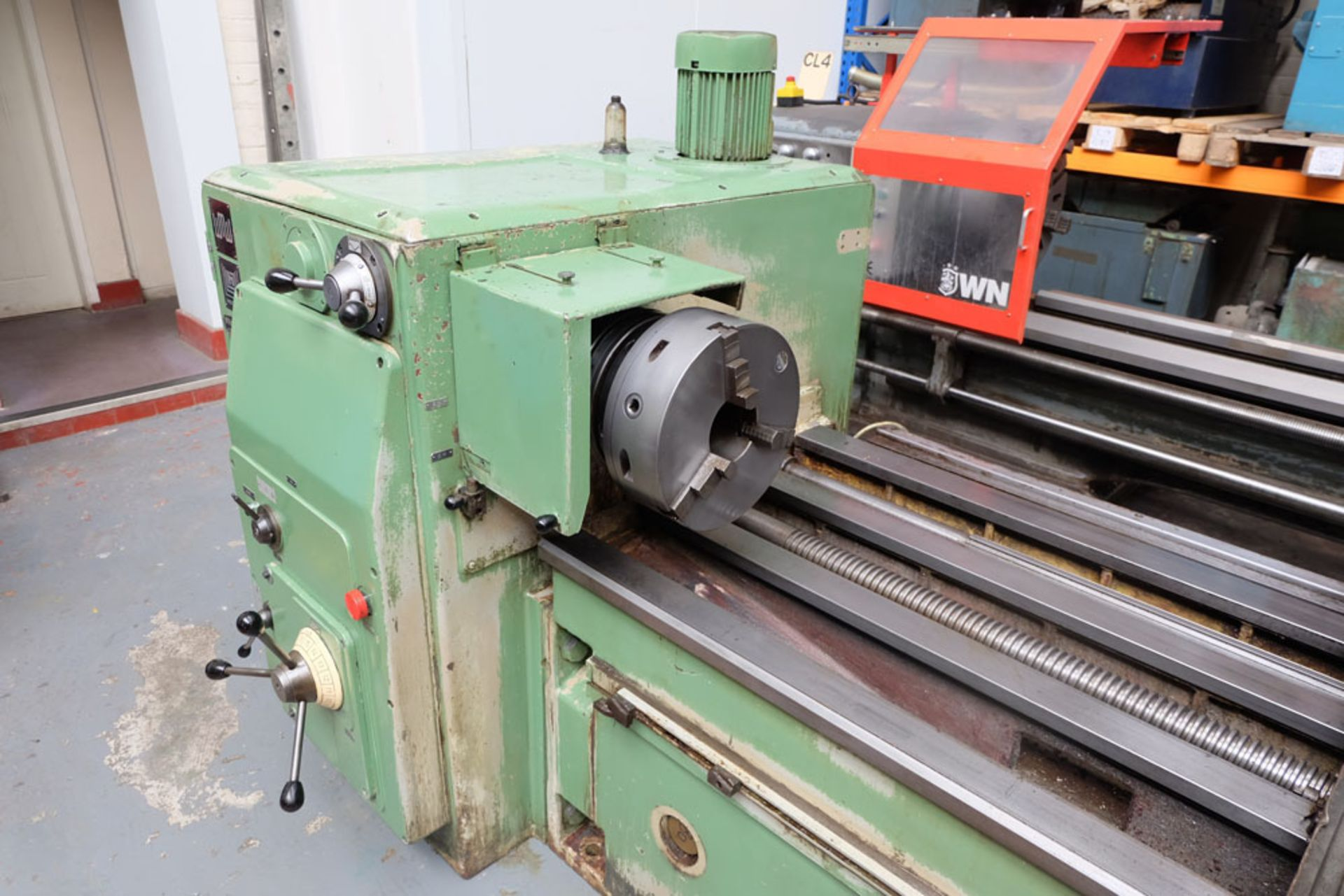 Heckert Type ZFWVG 25 x 5000 Long Thread and Spline Shaft Milling Machine. Centre Height 250mm. - Image 3 of 21