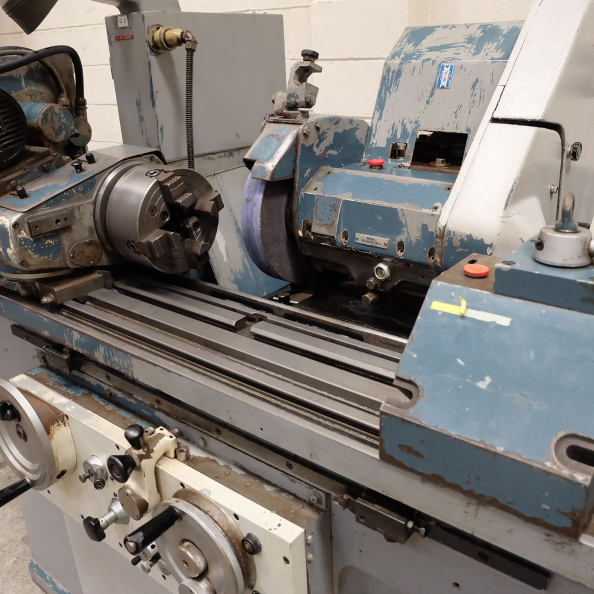"Jones & Shipman Model 1311 EIU Universal Cylindrical Grinder. Capacity 10"" x 18"". - Image 5 of 10"