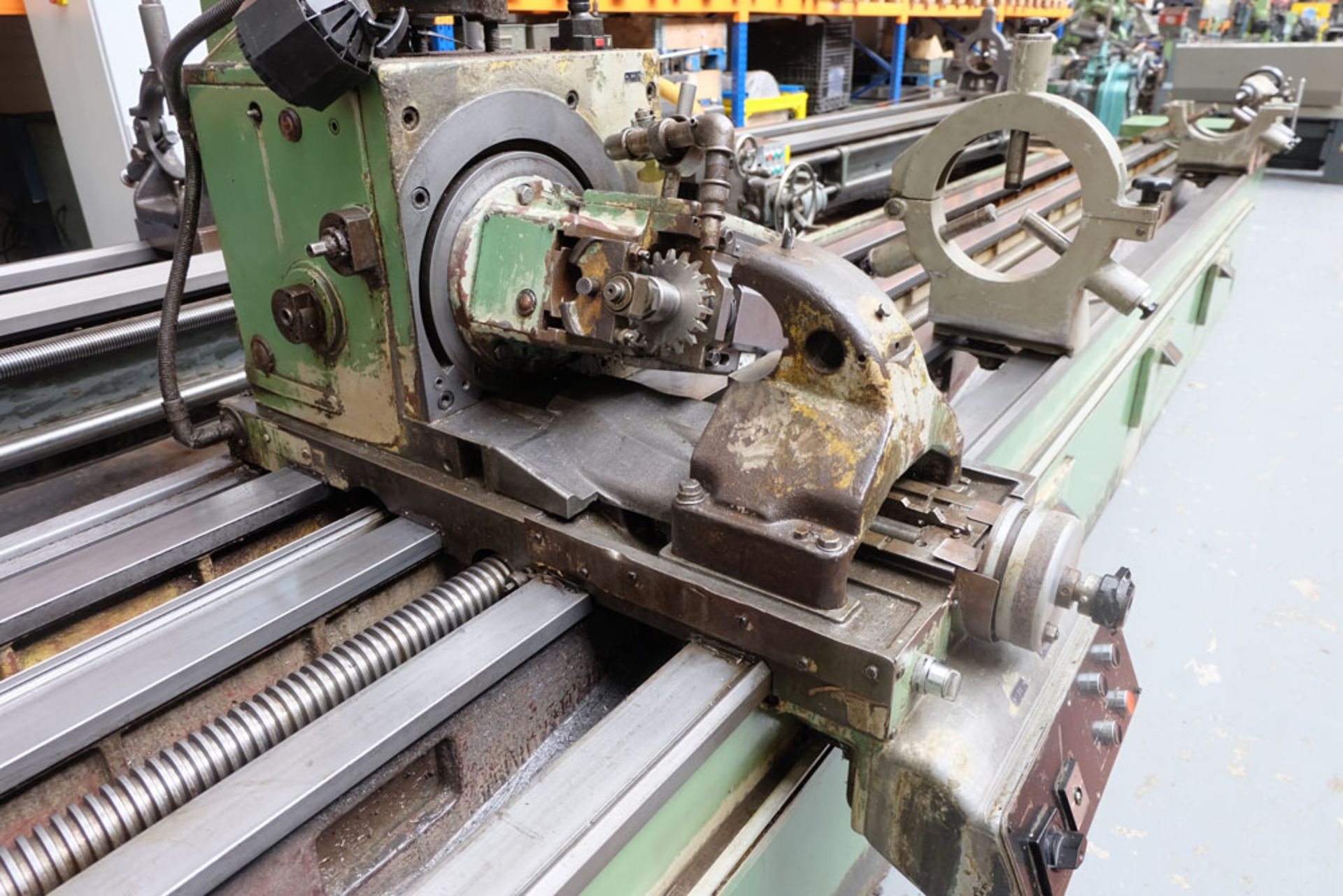 Heckert Type ZFWVG 25 x 5000 Long Thread and Spline Shaft Milling Machine. Centre Height 250mm. - Image 7 of 21