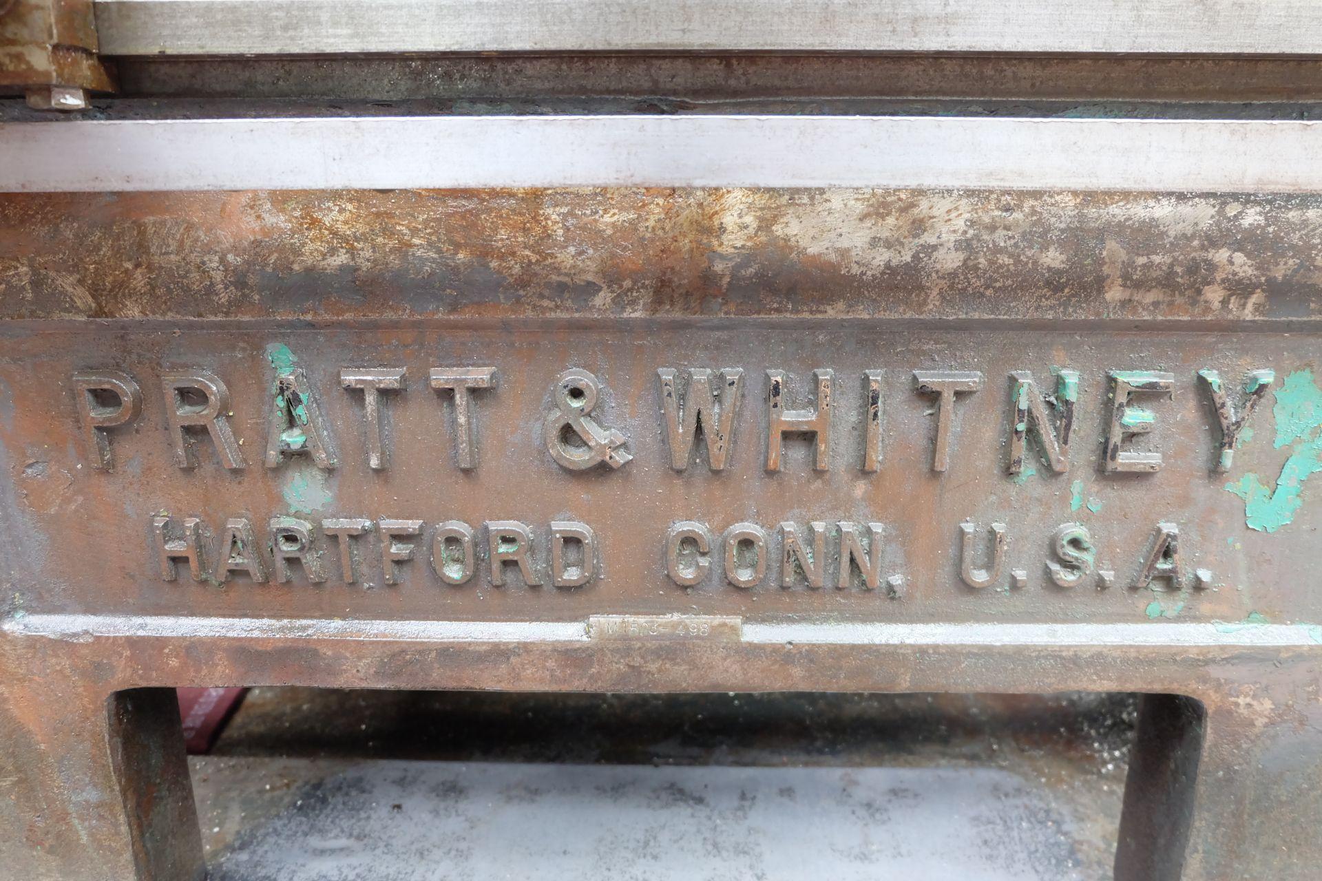 "Pratt & Whitney Model C-M1503 6"" Thread Milling Machine. - Image 10 of 13"