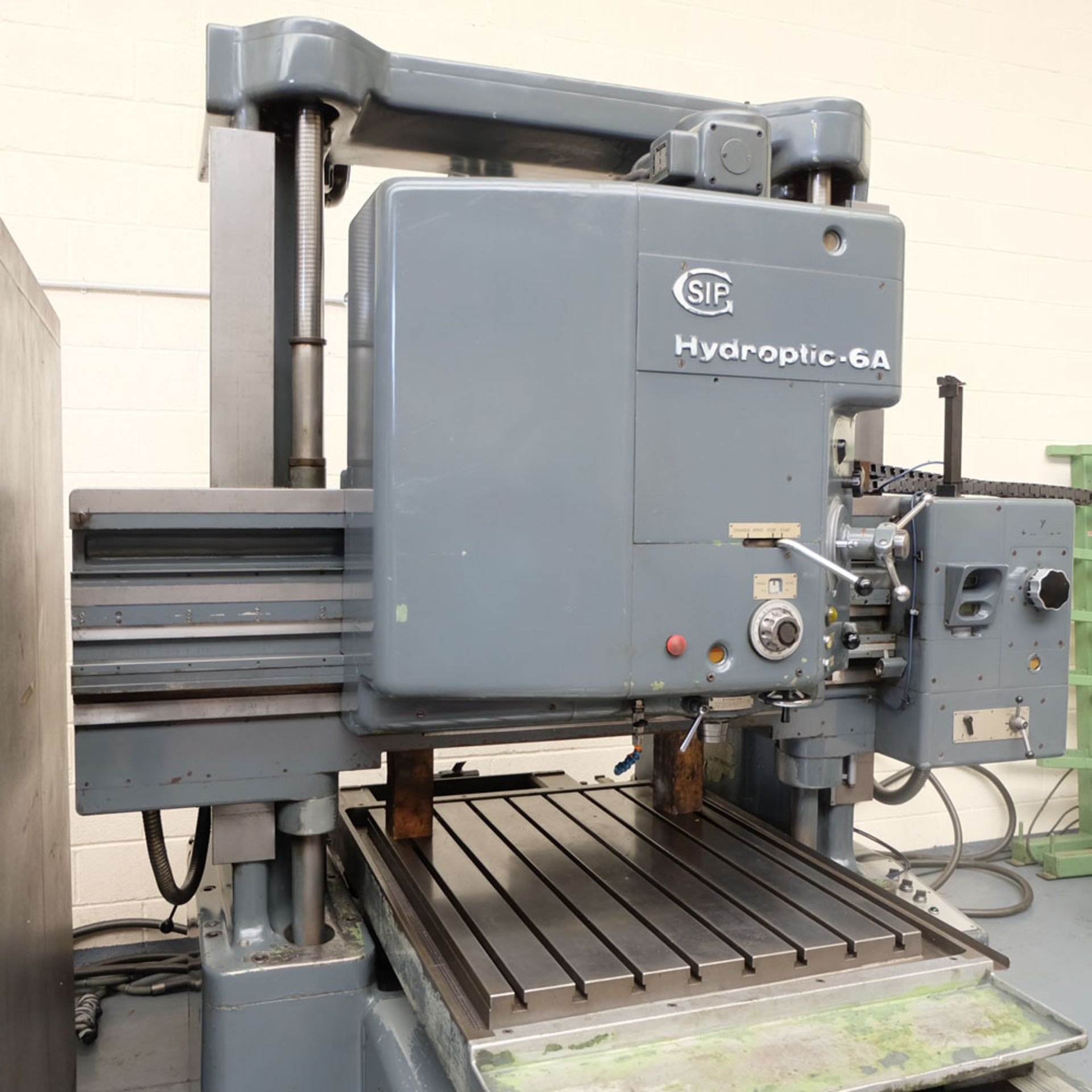 SIP Genevoise Hydroptic - 6A High Precision Jig Boring And Milling Machine. - Image 3 of 25