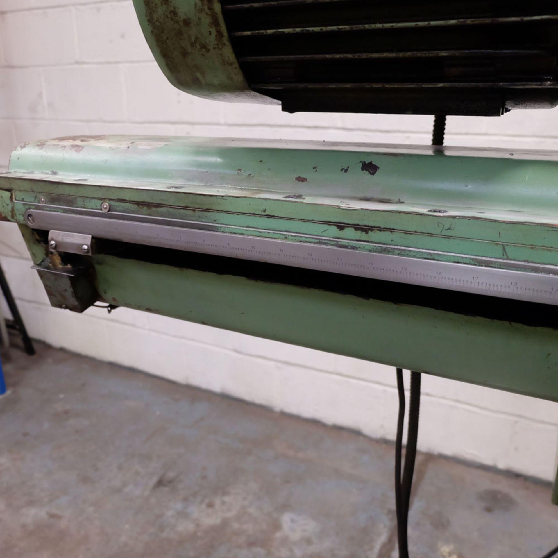 Juaristi Model MDR-55 Horizontal Boring Machine. Spindle Size: 55mm Dia. Spindle Bore: No.4 MT. - Image 13 of 14
