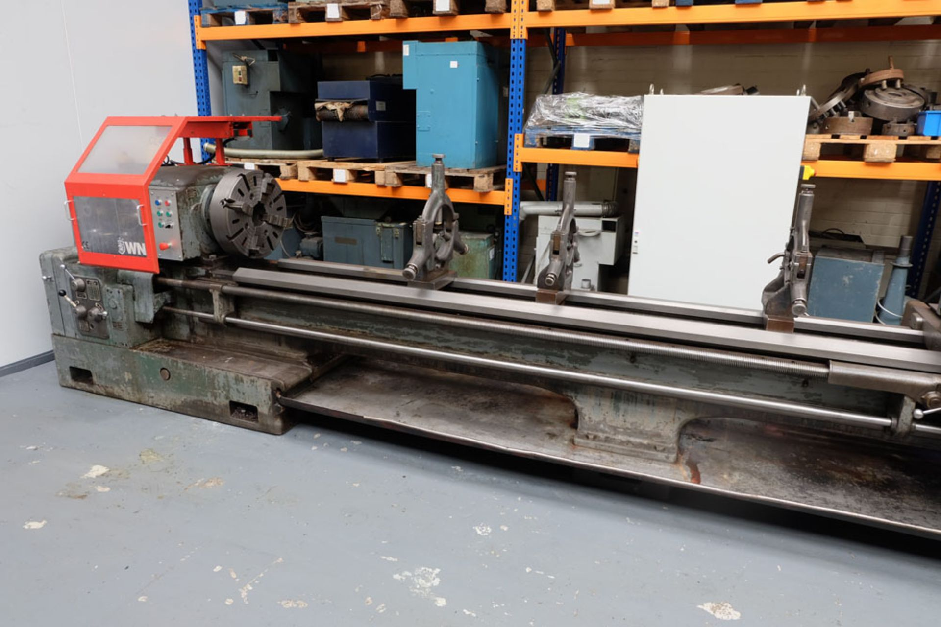 """Swift Type 11B SS and SC Centre Lathe. Between Centres 25'. Swing Over Bed 22"""". - Image 5 of 18"""