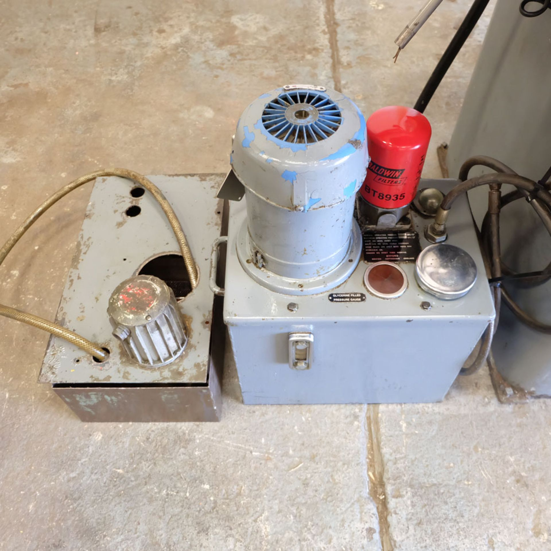 Myford Model MG12-HPT Automatic Cycle Traverse & Plunge Grinder. - Image 7 of 8