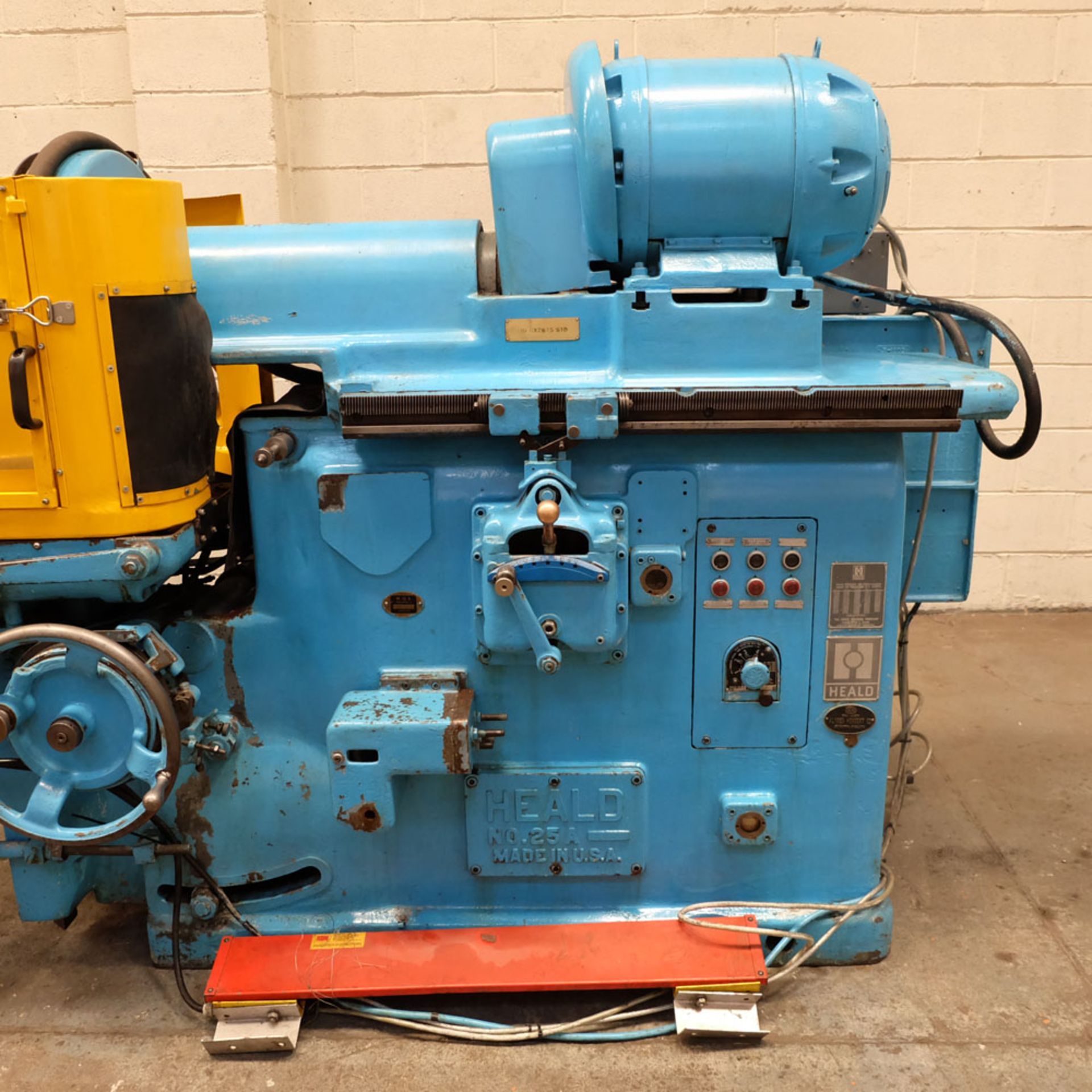 """Heald No.25A Rotary Ring Grinder. Grinding Wheel Size 18"""" Diameter. - Image 6 of 12"""