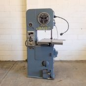 """DoAll Model PG-ML Vertical Band Sawing Machine. Table Size: 24"""" x 24""""."""