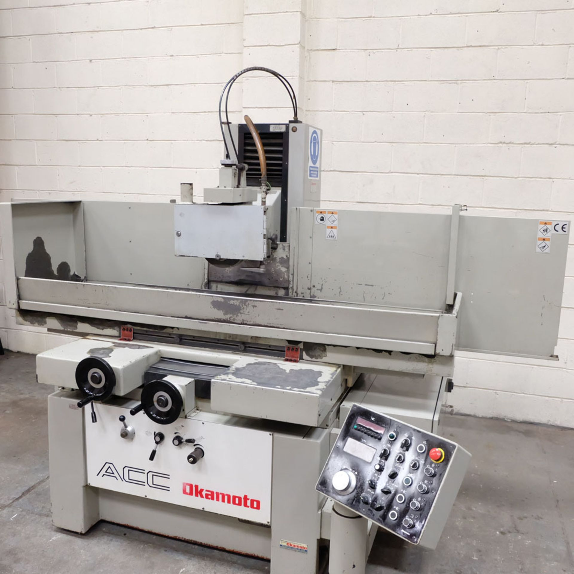"""Okamoto Type ACC-84 DX Precision Surface Grinding Machine. Grinding Capacity: 32"""" x 16""""(805 x 400mm) - Image 8 of 8"""