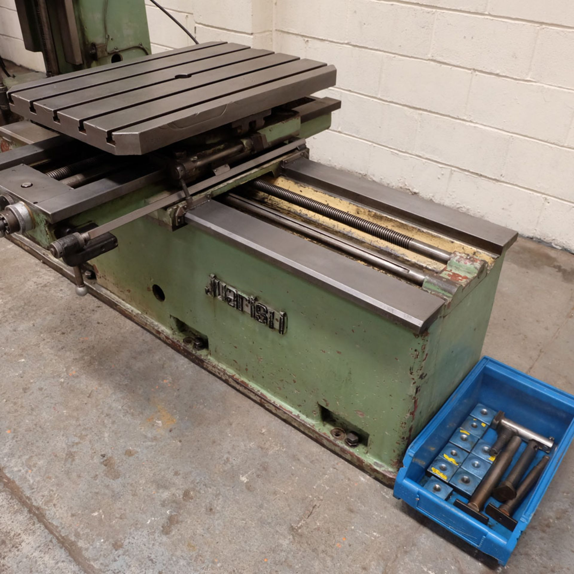 Juaristi Model MDR-55 Horizontal Boring Machine. Spindle Size: 55mm Dia. Spindle Bore: No.4 MT. - Image 5 of 14