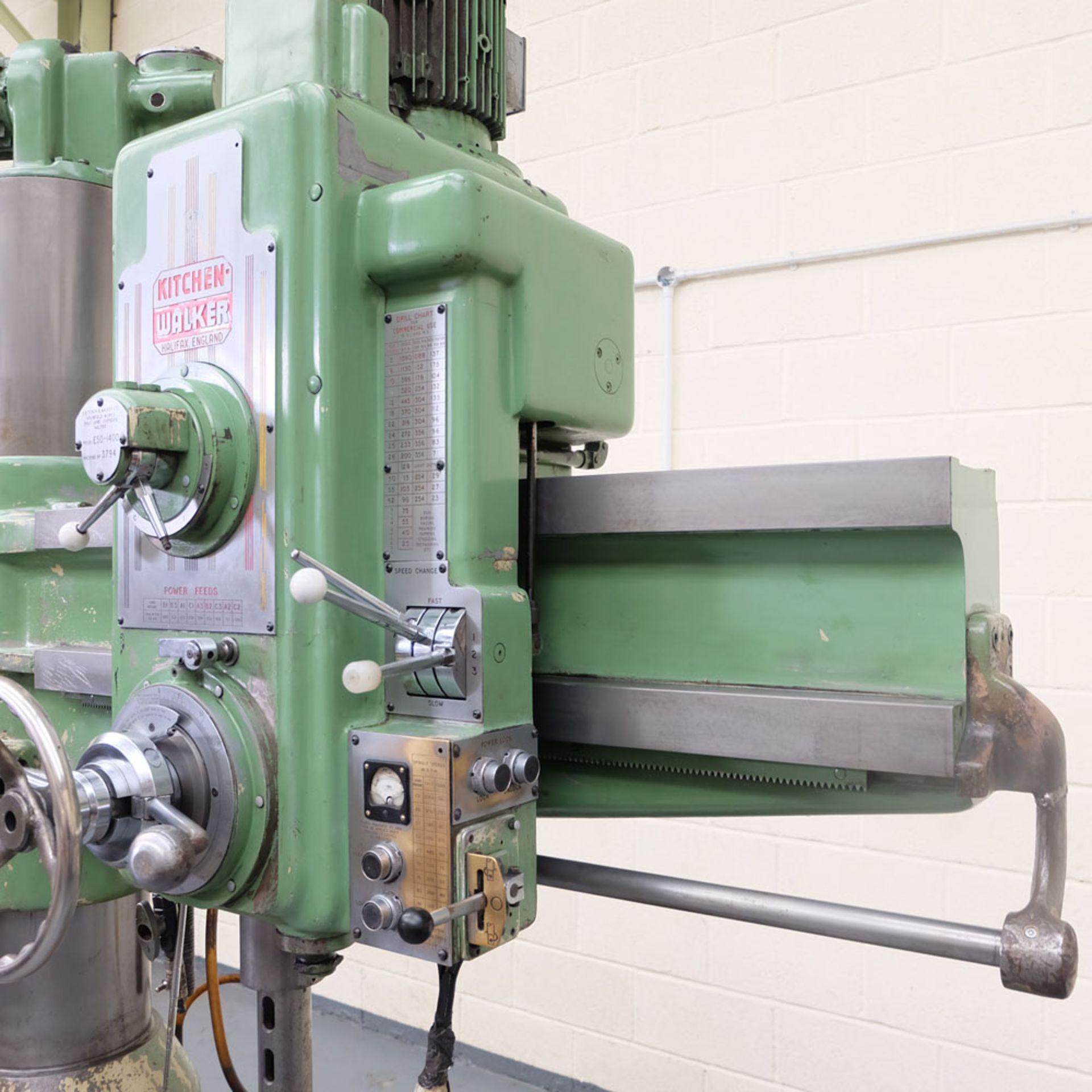 Kitchen-Walker Model E50-1400 4 1/2 FT Radial Alarm Drill. - Image 10 of 16