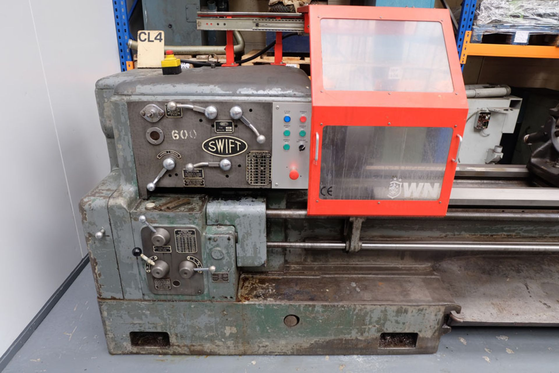 """Swift Type 11B SS and SC Centre Lathe. Between Centres 25'. Swing Over Bed 22"""". - Image 3 of 18"""