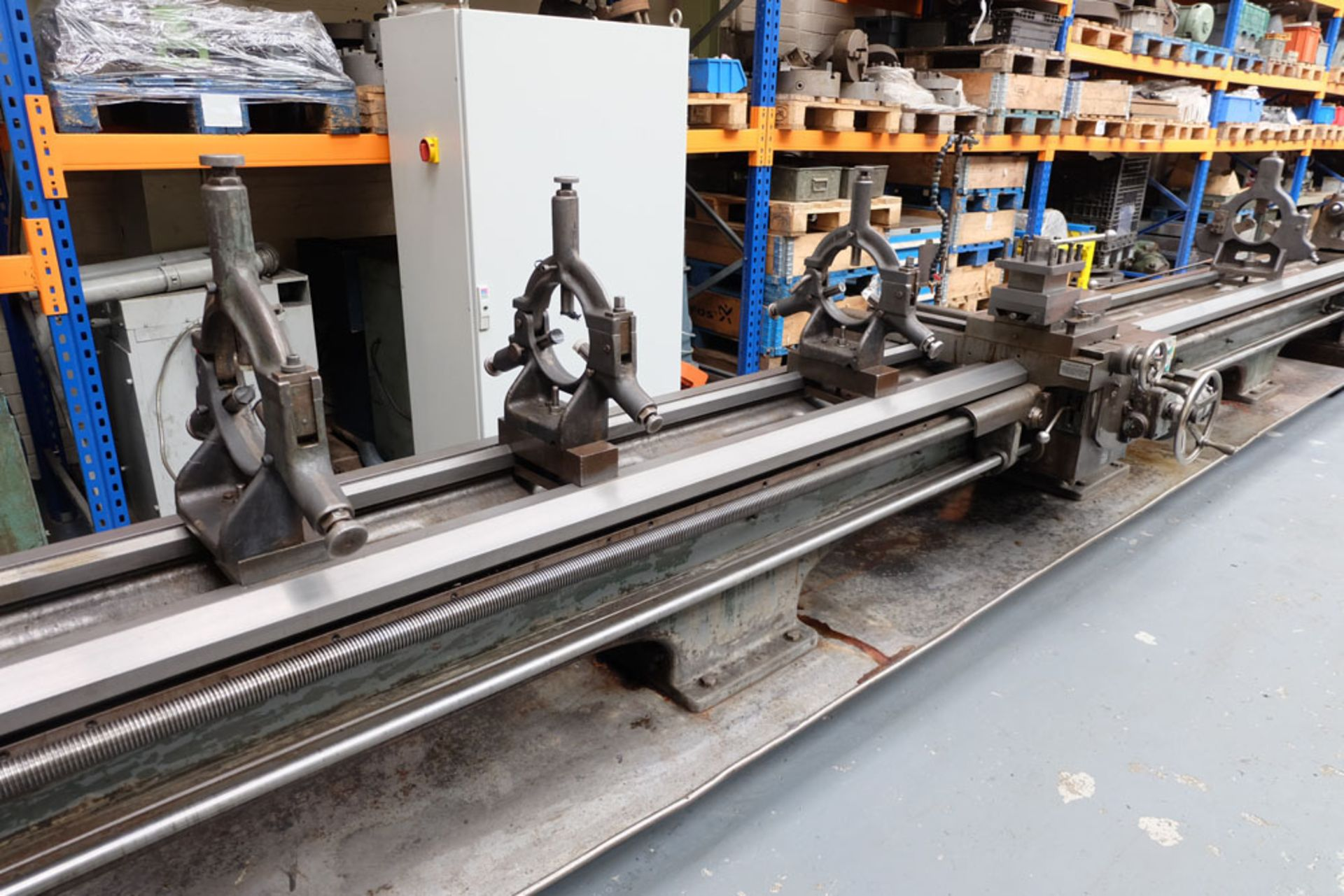 """Swift Type 11B SS and SC Centre Lathe. Between Centres 25'. Swing Over Bed 22"""". - Image 8 of 18"""