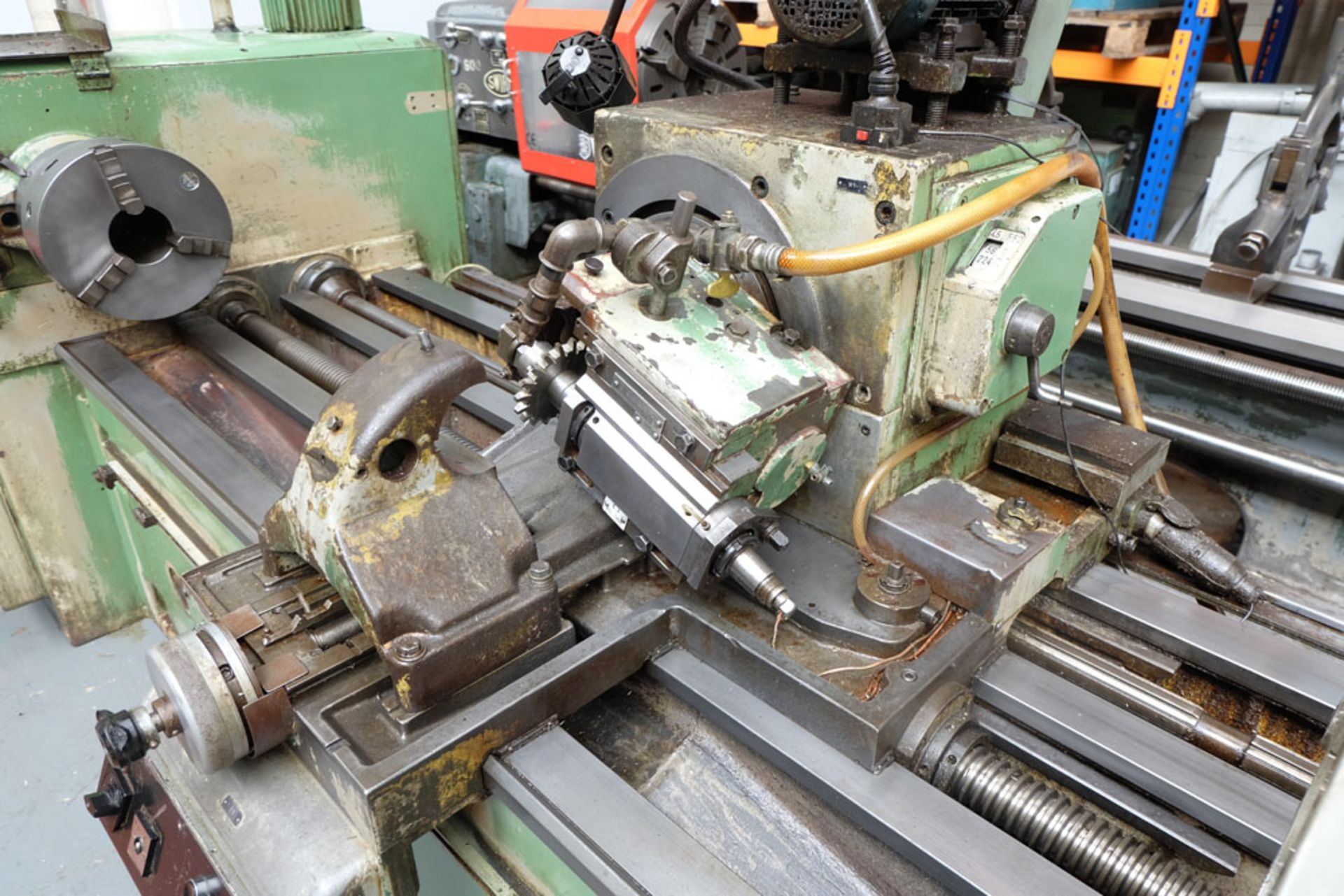 Heckert Type ZFWVG 25 x 5000 Long Thread and Spline Shaft Milling Machine. Centre Height 250mm. - Image 9 of 21