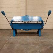 Dreis & Krump Chicago Box & Pan Folding Machine. Capacity: 6 ftx 14 swg.