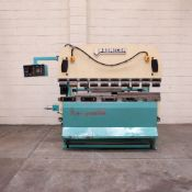 P & S Promecam RG-50-20 Hydraulic Press Brake. Capacity: 50 Tonnes. Bed Length: 2000mm.