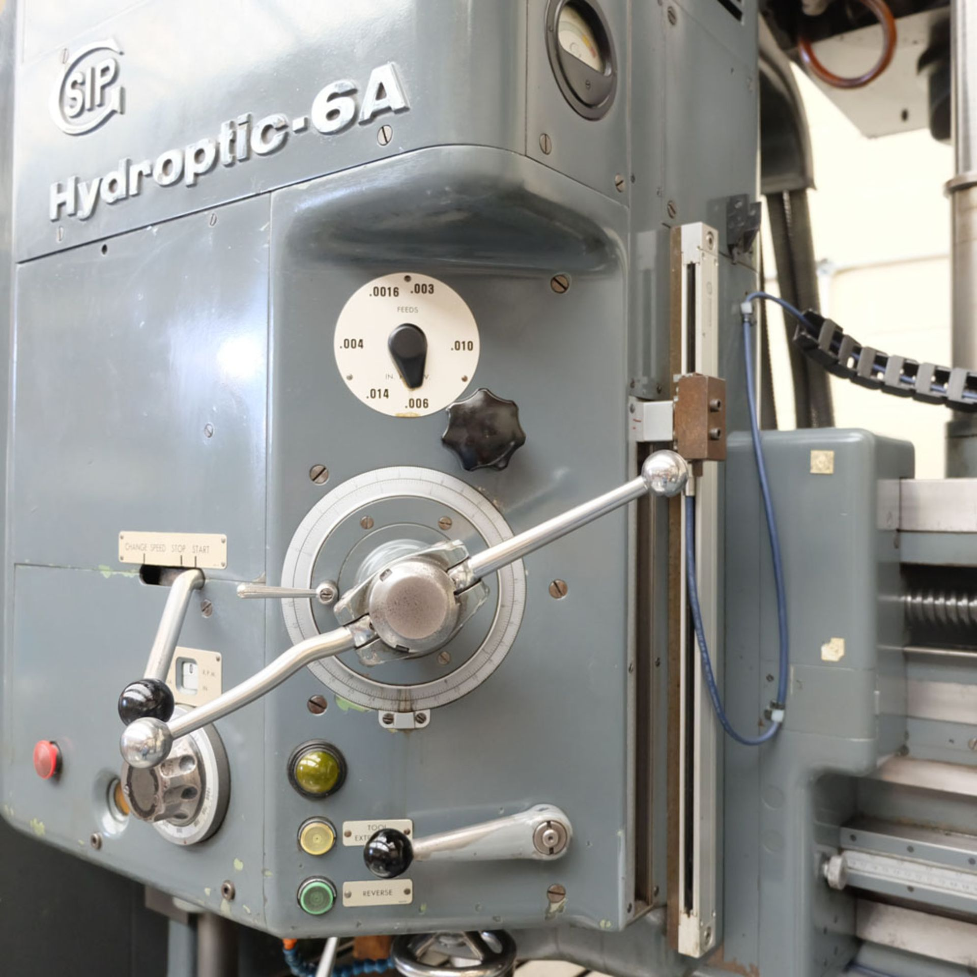 SIP Genevoise Hydroptic - 6A High Precision Jig Boring And Milling Machine. - Image 5 of 25