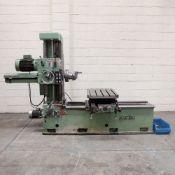 Juaristi Model MDR-55 Horizontal Boring Machine. Spindle Size: 55mm Dia. Spindle Bore: No.4 MT.