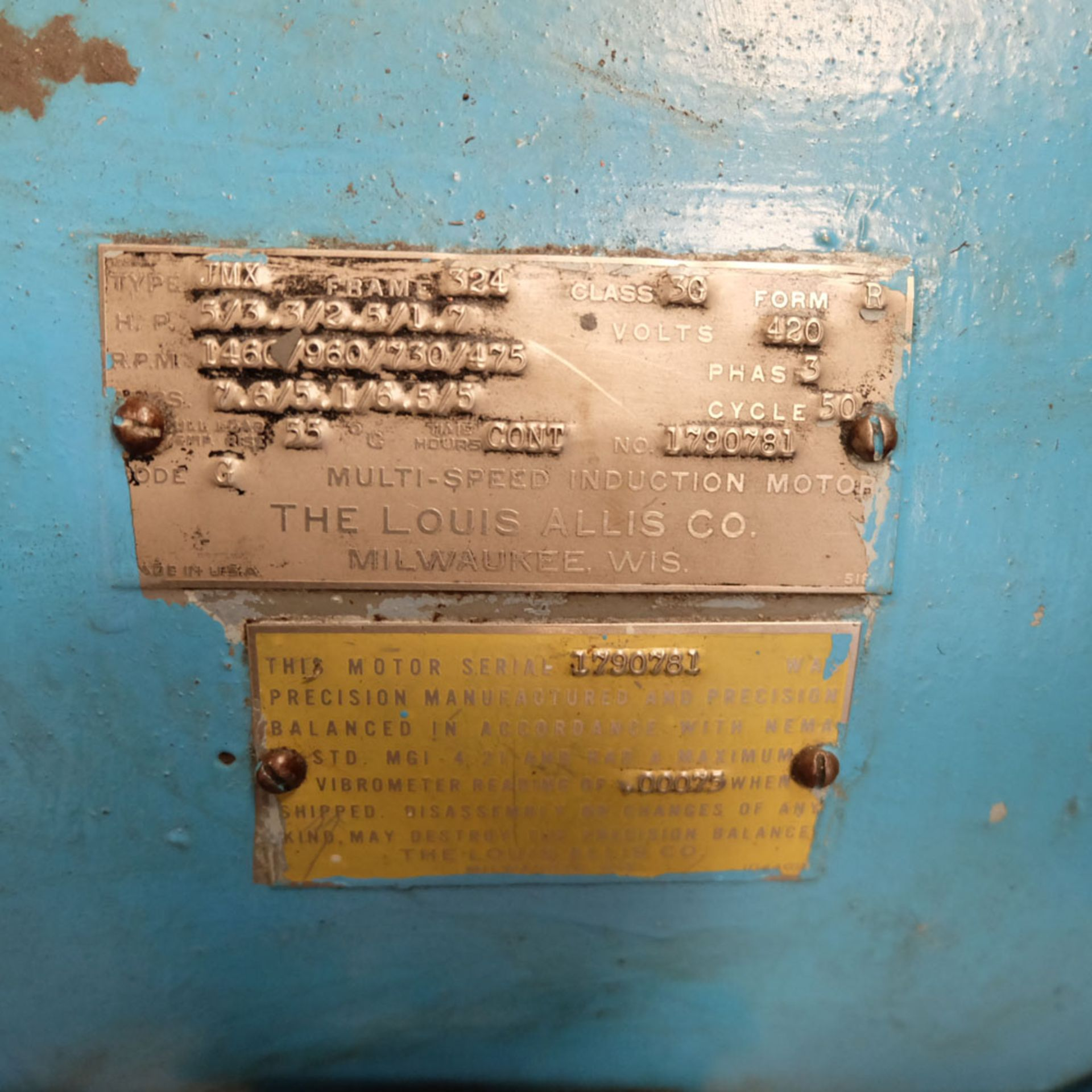 """Heald No.25A Rotary Ring Grinder. Grinding Wheel Size 18"""" Diameter. - Image 11 of 12"""